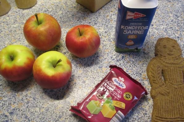 Apfel Marzipan Auflauf 002