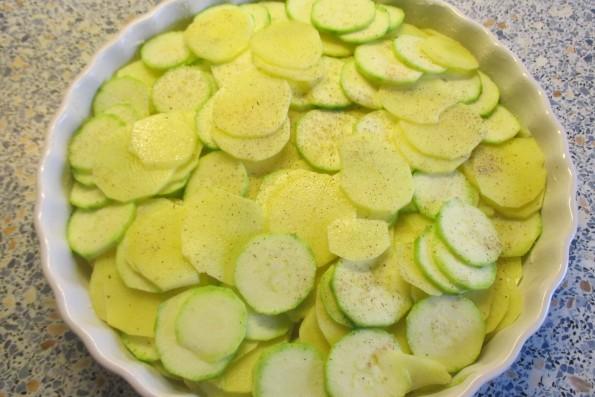 Kartoffel Zucchinigratin 012